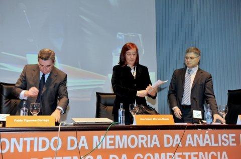 Inauguración. - Xornada sobre Estructura e Contido da Memoria do Análise do Impacto Normativo para a Defensa da Competencia
